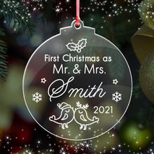 Load image into Gallery viewer, First Christmas as Mr & Mrs - EDSG