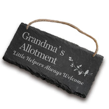 Load image into Gallery viewer, EDSG Personalised Hanging Slate Door Sign - EDSG