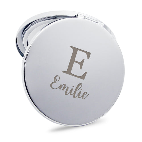 Personalised Handheld Mirror Gift for Her - EDSG