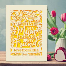 Load image into Gallery viewer, Personalised Mothers Day Card - EDSG