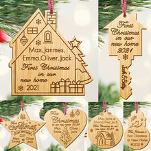 Load image into Gallery viewer, Personalised 1st Christmas New Home Bauble - EDSG