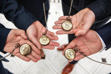Load image into Gallery viewer, Personalised Engraved Usher Groomsmen Pocket Watch - EDSG