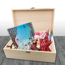 Load image into Gallery viewer, Personalised Christmas Wooden Box
