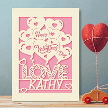 Load image into Gallery viewer, Personalised Valentine's Day Card - EDSG