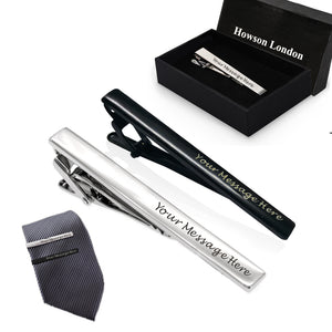 Personalised Tie Pin Mens Gifts - EDSG