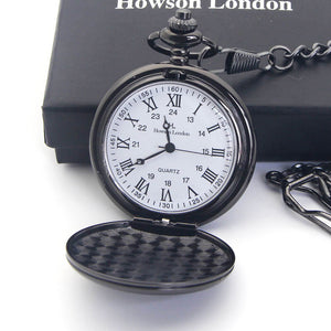 Personalised Engraved Pocket Watch Wedding Gift - EDSG
