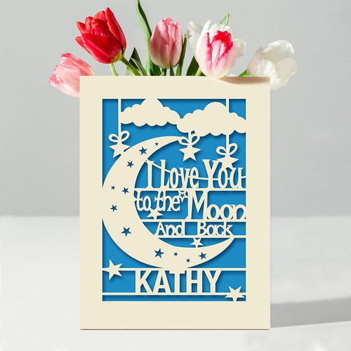 Personalised Love Card - EDSG