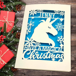 Personalised Merry Christmas Cards - EDSG