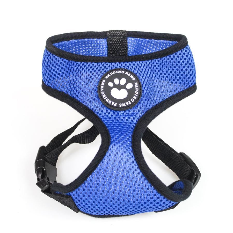 Dog Harness Waterproof Mesh Fabric Pet Puppy Harness No Pull - EDSG