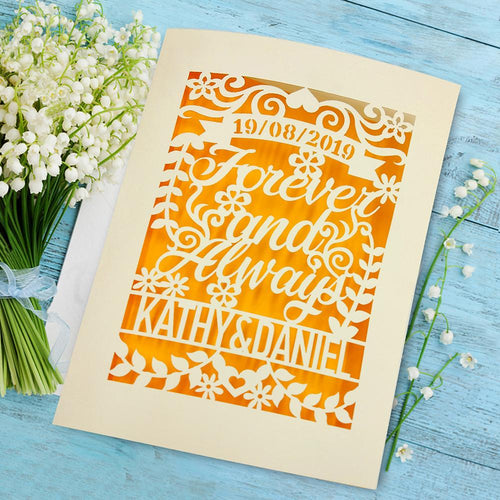 Personalised Wedding Card - EDSG