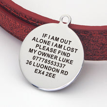 Load image into Gallery viewer, Personalised Engraved Cat Puppy Tag - EDSG