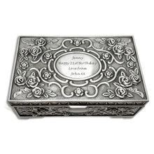 Load image into Gallery viewer, Personalised Engraved Jewellery Box - EDSG