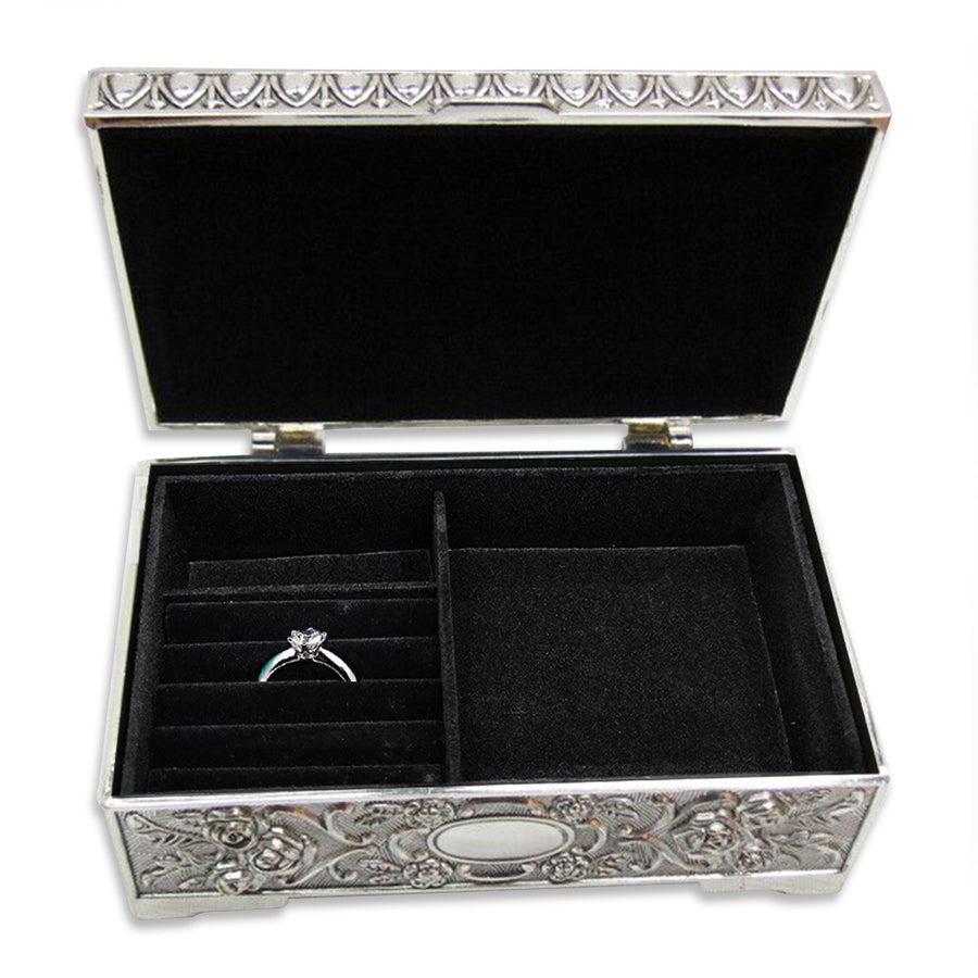 Personalised Engraved Jewellery Box Wedding Birthday Anniversary Gift - EDSG