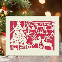 Load image into Gallery viewer, Personalised Merry Christmas Cards - EDSG