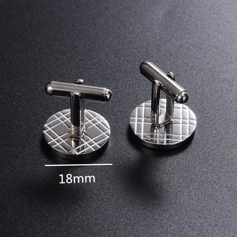 Personalised Engraved Cufflinks - Best Man Groomsman Wedding Gift - EDSG