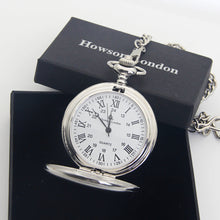Load image into Gallery viewer, Personalised Engraved Pocket Watch Bestman Gift - EDSG