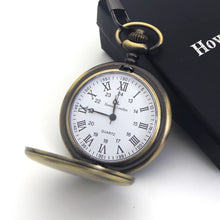 Load image into Gallery viewer, Personalised Engraved Pocket Watch Silver/Black - EDSG