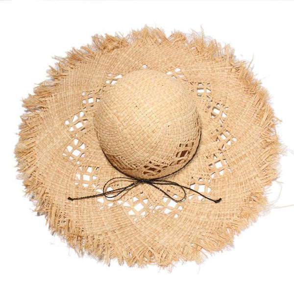 PMS Hats Same As Photo / one size Fashion   Casual Holiday  Straw hat sunshade   hat  Beach Hat