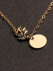 PMS Necklaces Gold / one size Fashion Flower Copper Necklace