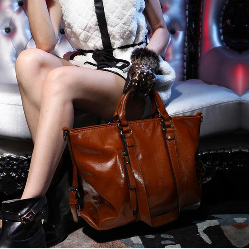 PMS Shoulder Bags Brown / one size Autumn And Winter New Women's Fashion Retro Handbag Shoulder Bag