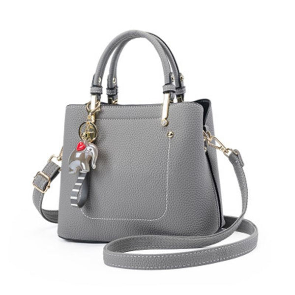 PMS Shoulder Bags Gray / one size Small Elephant Bucket Diagonal Cross Shoulder Diagonal Package