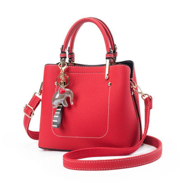 PMS Shoulder Bags Red / one size Small Elephant Bucket Diagonal Cross Shoulder Diagonal Package