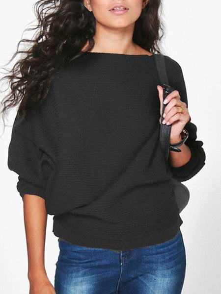 PMS Sweaters black / s Women's Loose Top T-Shirt Sweater