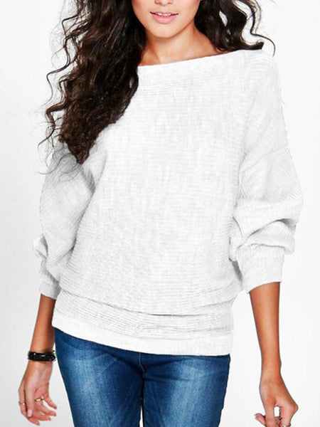 PMS Sweaters white / s Women's Loose Top T-Shirt Sweater