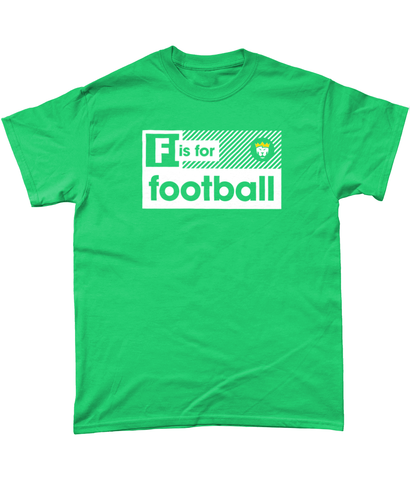 'F is for football' Tee - Mens