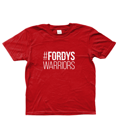 #FORDYSWARRIORS T-shirt - Kids