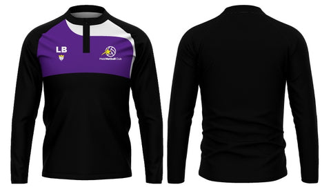 MNC 1/4 Zip Warm Up Top - Ladies