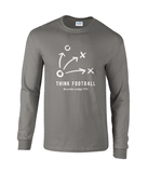 Think Football Long Sleeve T-shirt - Mens