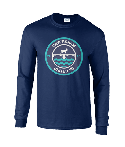 Caversham United Long Sleeve T-shirt - Mens