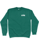 Number One Classic Sweatshirt (printed front & back) - Mens