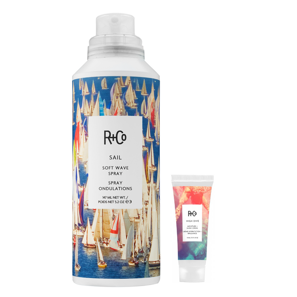 R+Co.  Duo Spray ondulations Sail + High Dive (essentiels été)