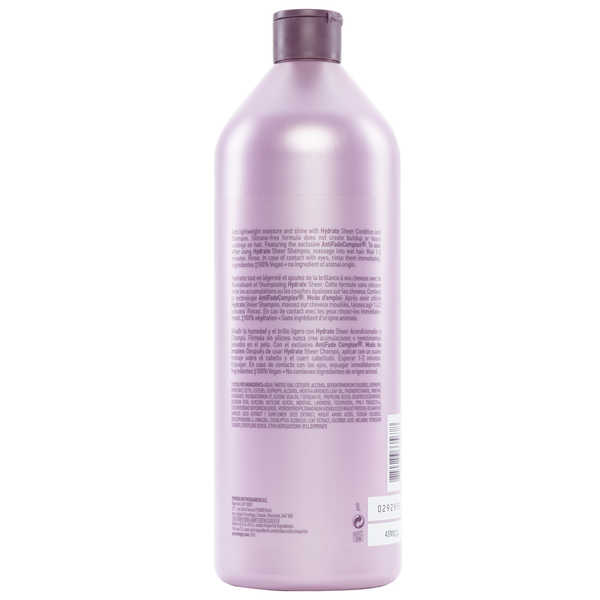 Pureology. Revitalisant Hydrate Sheer - 1000 ml
