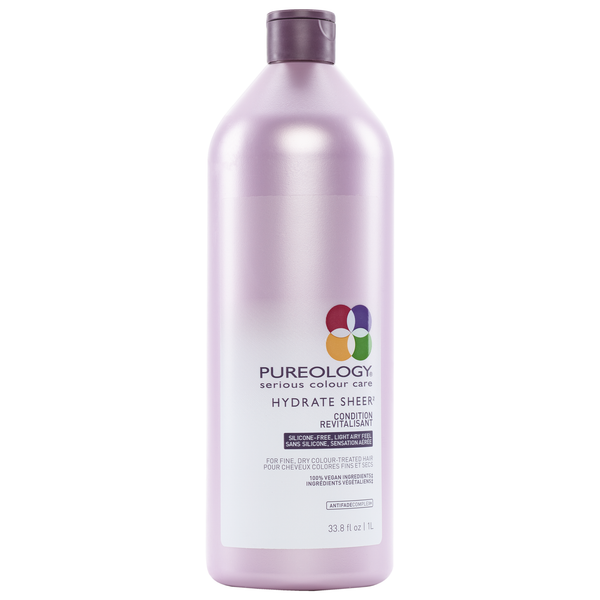 Pureology. Revitalisant Hydrate Sheer - 1000 ml (festilitre)