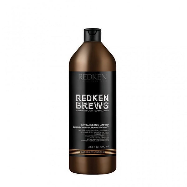 Redken Brews. Shampoing Ultra-Nettoyant - 1000 ml  Conceptcshop.com