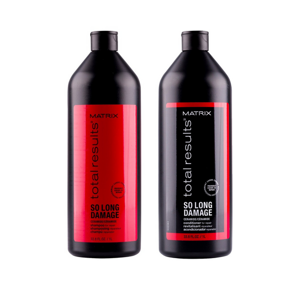 Matrix Total Results. Duo shampoing/revitalisant So long damage - 1000 ml