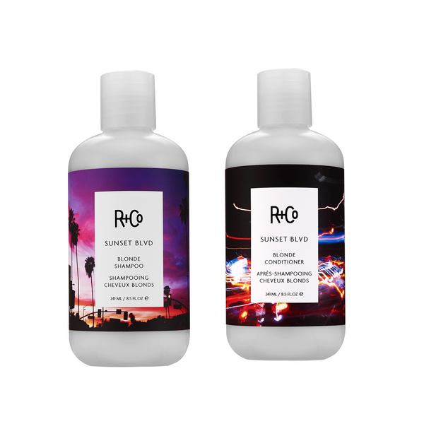 R+CO. DUO CHEVEUX BLONDS SUNSET BLVD - 2X 241 ML