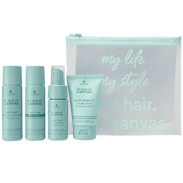 Alterna. My Hair My Canvas Pochette de Formats Voyage Me Time Any Time - Concept C. Shop