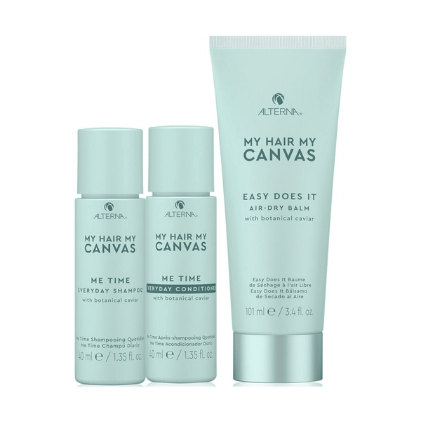 Alterna. Trio My Hair My Canvas Easy Does It et Me Time (en solde) - Concept C. Shop