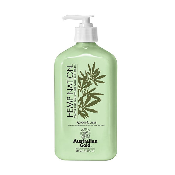 Australian Gold. Hemp Nation Prolongateur de Bronzage Agave et Lime - 535 ml - Concept C. Shop