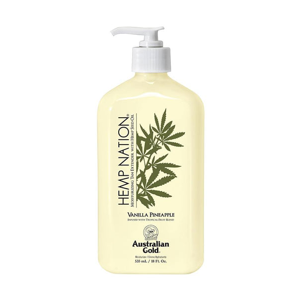 Australian Gold. Hemp Nation Prolongateur de Bronzage Vanille et Ananas - 535 ml - Concept C. Shop