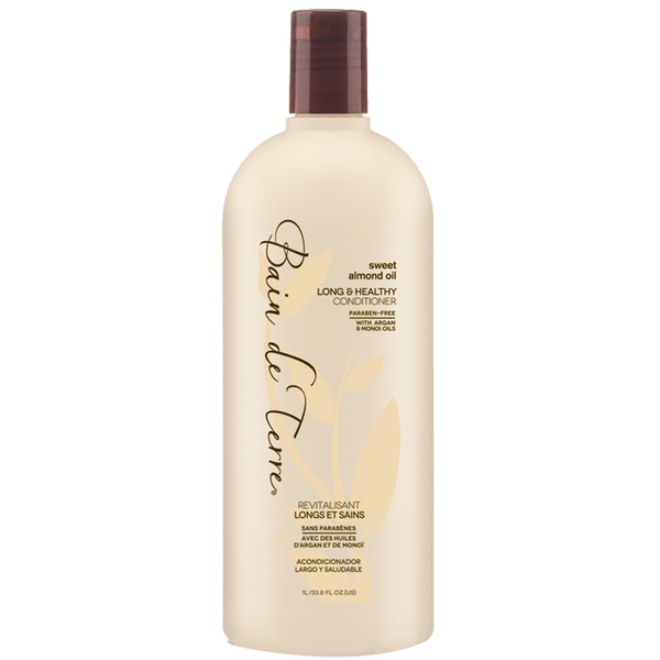 Bain de Terre. Revitalisant Longs et Sains Sweet Almond Oil - 1000ml - Concept C. Shop