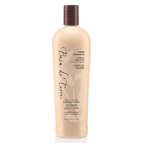 Bain de Terre. Revitalisant Longs et Sains Sweet Almond Oil - 400ml - Concept C. Shop