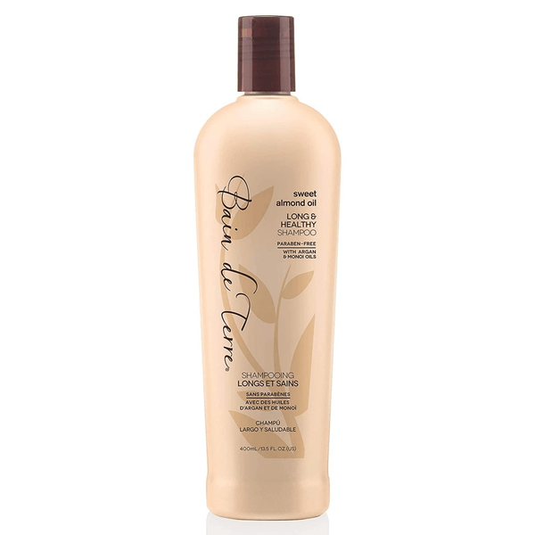 Bain de Terre. Shampoing Longs et Sains Sweet Almond Oil - 400ml - Concept C. Shop