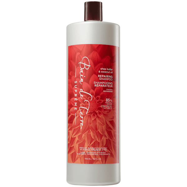 Bain de Terre. Shampoing Réparateur Shea Butter & Coconut Oil - 1000ml - Concept C. Shop