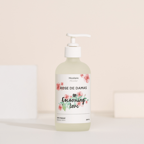 Cocooning Love. Micellaire à la Rose de Damas - 240ml - Concept C. Shop