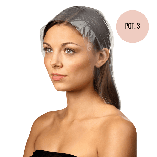 Concept C. Bonnets en Plastique Transparents Pop-Ups - Pqt. 3 - Concept C. Shop